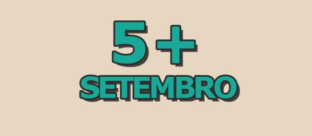 5 artigos mais acessados em setembro