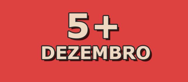5 artigos mais acessados em dezembro
