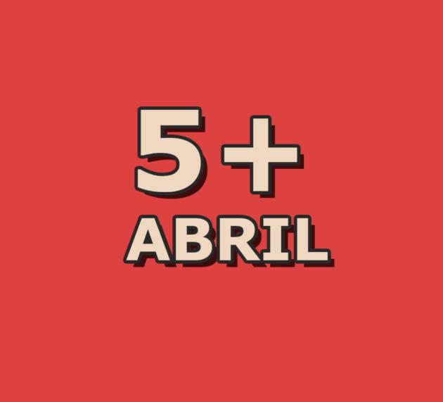 5 artigos mais acessados em abril